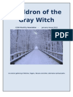 Cauldron of the Gray Witch Monthly Newsletter  4th Issue -Jan 2012