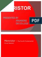 Memristor Presentation