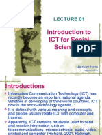 Lecture ICT 01