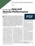 daylighting & human performance