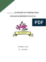 Delaware Corporation Manual 2004