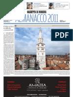 almanacco 2011 Gazzetta di Modena
