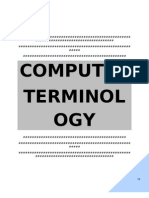 Computer Terminology