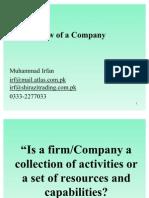 3 Process View of a Company
