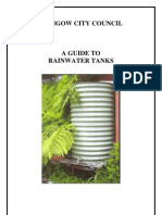 A Guide to Rainwater Tanks