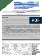 Boletin Nº 16 de la Comision Exiliados Argentinos en Madrid. Secciones