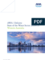 2011 Deloitte WA Water Sector 2010 2015