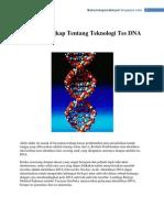 Ulasan Lengkap Tentang Teknologi Tes DNA