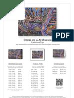 Ondas de La Ayahuasca by Pablo Amaringo