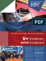 HVC - Algemene informatie voor ouders 2011/2012