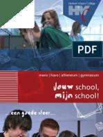 HVC - Algemene info Mavo, Havo en Vwo (2011-2012)