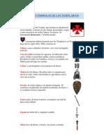 Armas y símbolos de los Templários