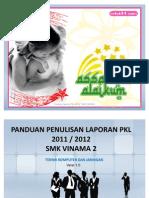 Format Penulisan Laporan PKL