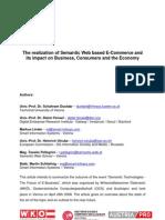 Impact of Semantic Web on Ecoomerce