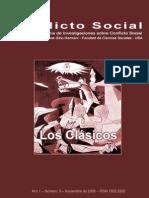 Conflicto Social, nº 00, noviembre 2008 - Los clásicos