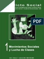 Conflicto Social, nº 01, junio 2009 - Movimientos sociales y lucha de clases