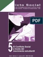 Conflicto Social, nº 05, junio 2011 - A través del movimiento estudiantil