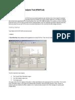 Filter Design and Analysis Tool