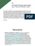 Cholinergic Receptors Historical