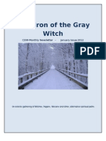 Cauldron of the Gray Witch Monthly Newsletter January 2012   4th Issue