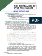 PREPARACIÓN BIOMECÁNICA DE CONDUCTOS RADICULARES