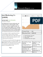 JARIR RESEARCH REPORT  Dec. 28th, 2011