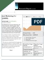 JARIR RESEARCH REPORT  Dec. 28th, 2011