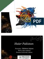 Haier Pakistan