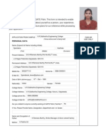 Employment Application Form iGate Repaired)