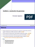 Genome Annotation 2010