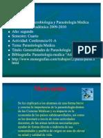 Clase 1a General Ida Des Parasitologia