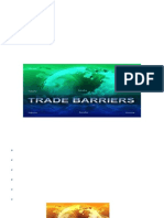 Trade Barriers and Their Effects on International Trade