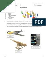 Mechanisms Notes 2012
