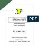 Hispania Nova, nº 03, 2003 - Fernando VII y la crisis del antiguo régimen en España