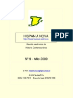 Hispania Nova, nº 09, 2009
