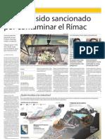 Industrias afectan río Rimac