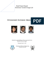 Ultrasound Final Project Report