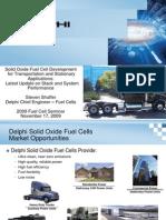 2009 Fuel Cell Seminar