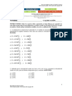 TERCERA SERIE DE EJERCICIOS DE FÍSICA III