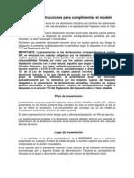 Instrucciones cumplimentación del resumen anual del IVA (Modelo 390, 2011)