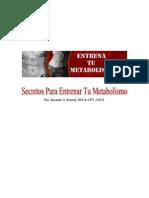 Secretos Para Entrenar Tu Metabolismo (Ricardo O. Irizarry)