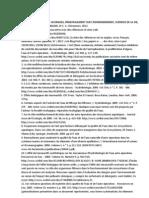 In French.CES DOCUMENTS CLES ET OUVRAGES, PRINCIPALEMENT SUR L'ENVIRONNEMENT, SCIENCES DE LA VIE, SONT DISPONIBLES EN ANGLAIS