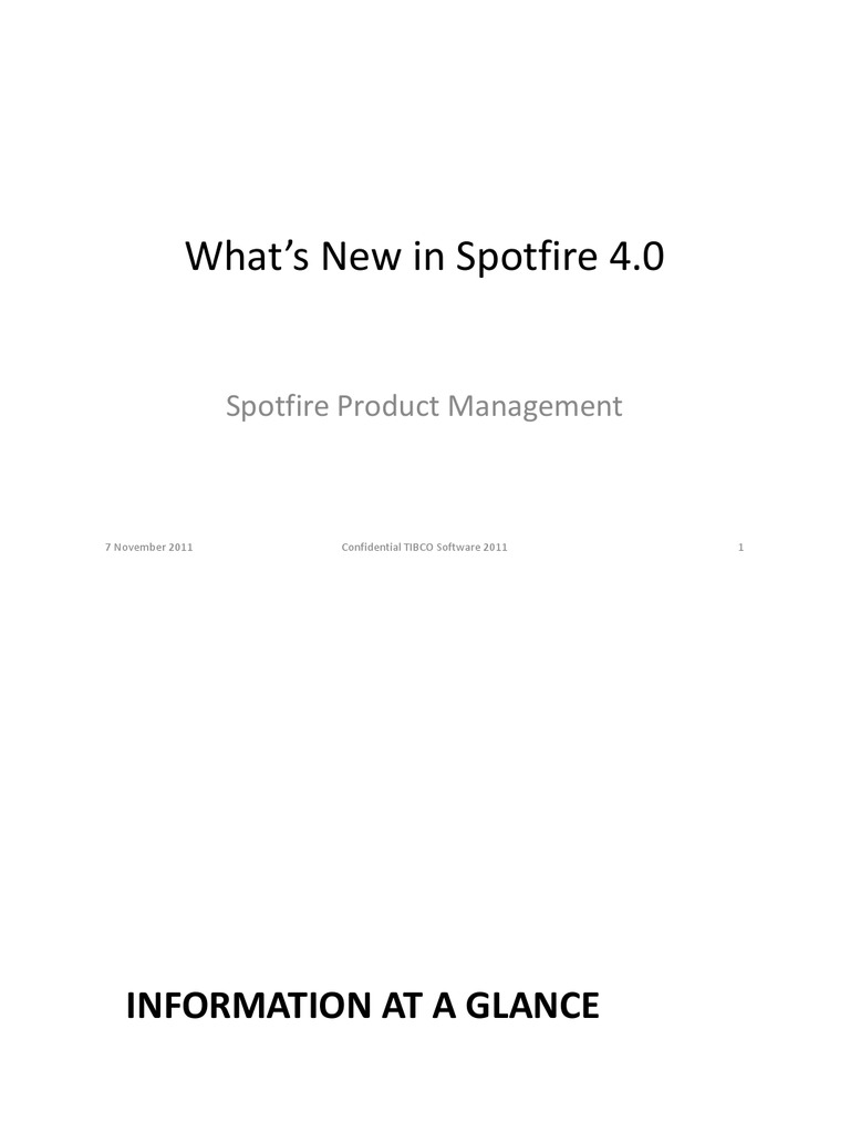 Whats New in Spotfire 4 0 | Icon (Computing) | Internet Explorer