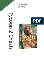 Zoo Tycoon 2 Cheats