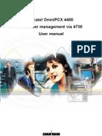Customer Management via 4730-08