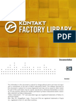 Kontakt Factory Library Documentation English