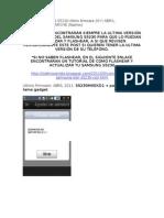 Actualizaciones s5230 Ultimo Firmware 2011 Abril