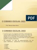 O_comando_escolha