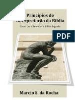 Principios Interpretacao Biblia - Marcio Rocha