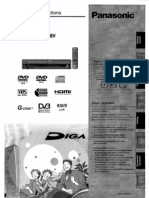 Panasonic DMR-EZ48V Owners Manual